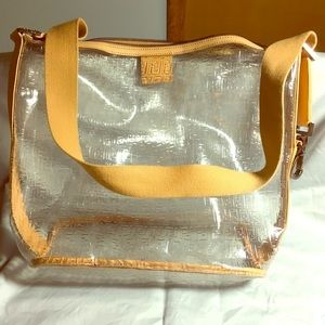 Fendi Bags - Fendi Clear Vinyl Hobo Bag